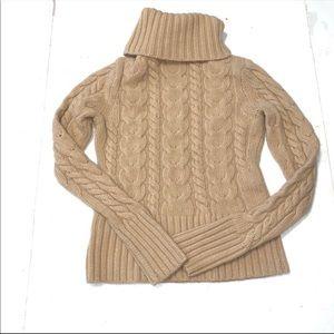 Banana Republic Angora & Wool Cable Knit Sweater S